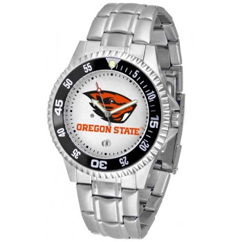 Oregon State University Beavers Mens Watch - Competitor Steel Band