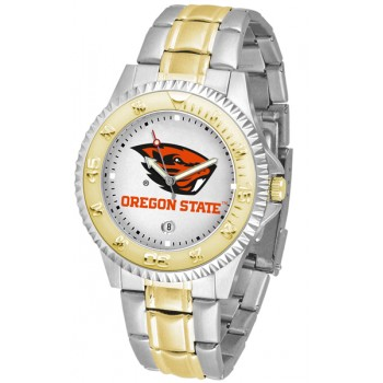 Oregon State University Beavers Mens Watch - Competitor Two-Tone