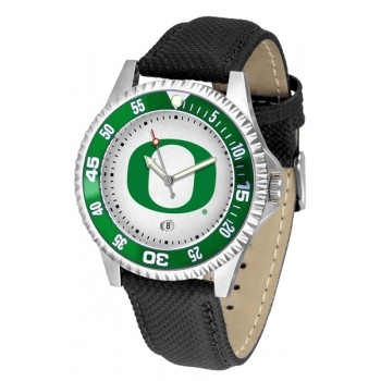 University Of Oregon Ducks Mens Watch - Competitor Poly/Leather Band