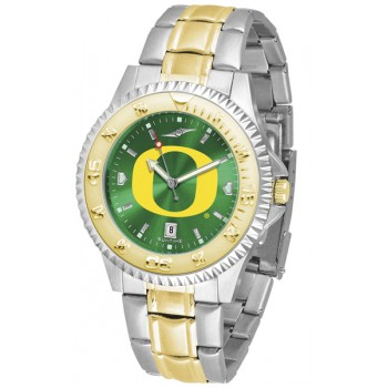 University Of Oregon Ducks Mens Watch - Competitor Anochrome Two-Tone