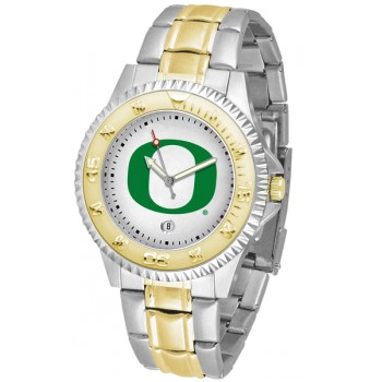 University Of Oregon Ducks Mens Watch - Competitor Two-Tone