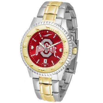 Ohio State University Buckeyes Mens Watch - Competitor Anochrome Two-Tone
