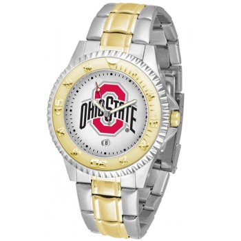 Ohio State University Buckeyes Mens Watch - Competitor Two-Tone