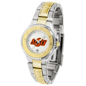 Oklahoma State University Cowboys Ladies Watch - Competitor Two-Tone
