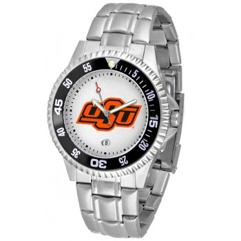 Oklahoma State University Cowboys Mens Watch - Competitor Steel Band