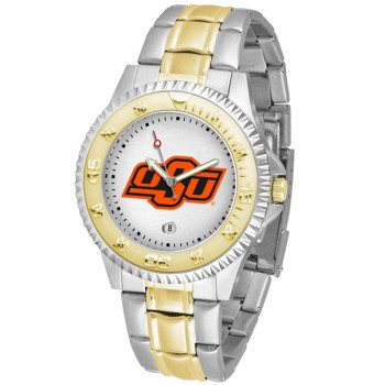Oklahoma State University Cowboys Mens Watch - Competitor Two-Tone