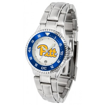 University Of Pittsurgh Panthers Ladies Watch - Competitor Steel Band