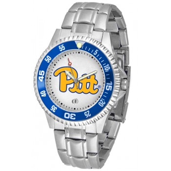 University Of Pittsurgh Panthers Mens Watch - Competitor Steel Band