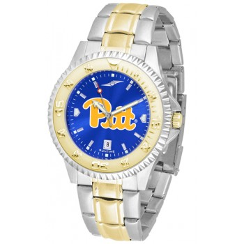 University Of Pittsurgh Panthers Mens Watch - Competitor Anochrome Two-Tone