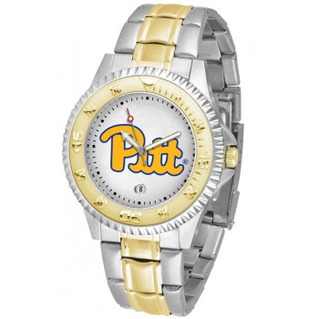 University Of Pittsurgh Panthers Mens Watch - Competitor Two-Tone