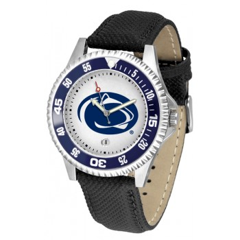 Pennsylvania State University Nittany Lions Mens Watch - Competitor Poly/Leather Band