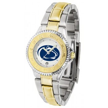 Pennsylvania State University Nittany Lions Ladies Watch - Competitor Two-Tone