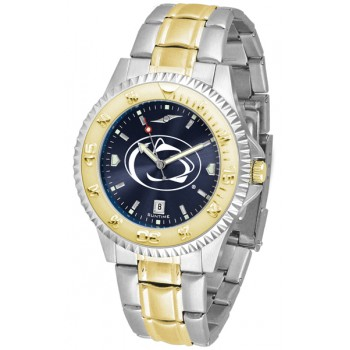 Pennsylvania State University Nittany Lions Mens Watch - Competitor Anochrome Two-Tone