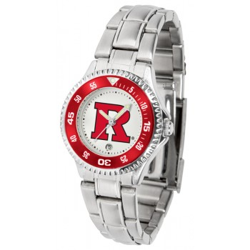 Rutgers Scarlett Knights Ladies Watch - Competitor Steel Band