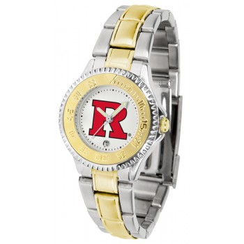 Rutgers Scarlett Knights Ladies Watch - Competitor Two-Tone