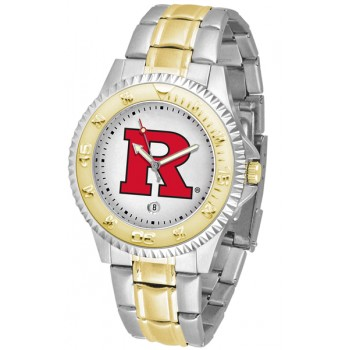 Rutgers Scarlett Knights Mens Watch - Competitor Two-Tone