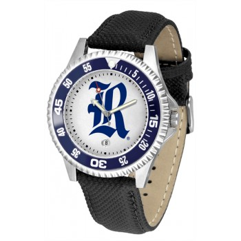 Rice University Owls Mens Watch - Competitor Poly/Leather Band
