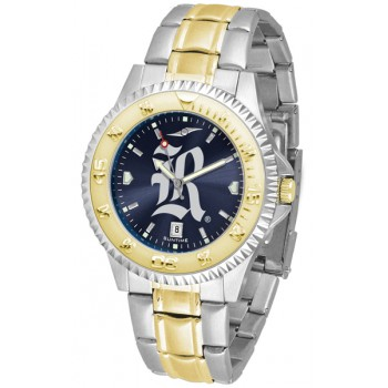 Rice University Owls Mens Watch - Competitor Anochrome Two-Tone