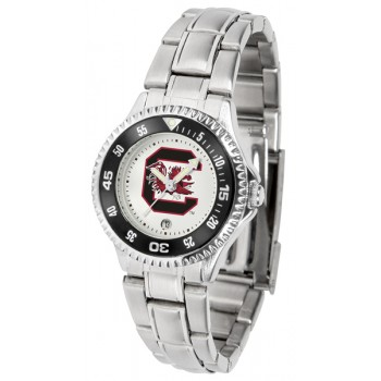 University Of South Carolina Gamecocks Ladies Watch - Competitor Steel Band
