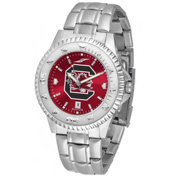 University Of South Carolina Gamecocks Mens Watch - Competitor Anochrome Steel Band