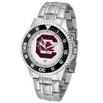 University Of South Carolina Gamecocks Mens Watch - Competitor Steel Band