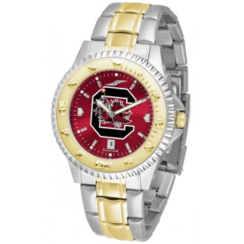 University Of South Carolina Gamecocks Mens Watch - Competitor Anochrome Two-Tone
