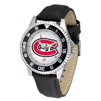 St. Cloud State University Huskies Mens Watch - Competitor Poly/Leather Band