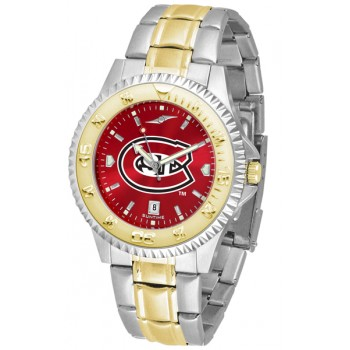 St. Cloud State University Huskies Mens Watch - Competitor Anochrome Two-Tone