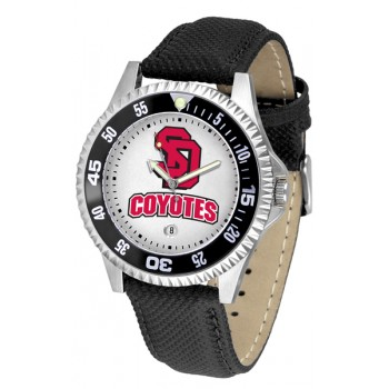 University Of South Dakota Coyotes Mens Watch - Competitor Poly/Leather Band