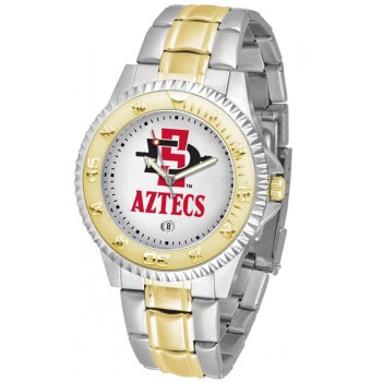 San Diego State University Aztecs Mens Watch - Competitor Two-Tone