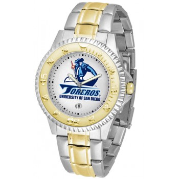 University Of San Diego Toreros Mens Watch - Competitor Two-Tone