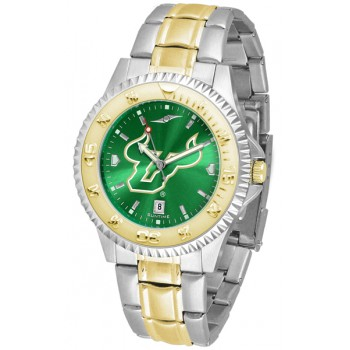 University Of South Florida Bulls Mens Watch - Competitor Anochrome Two-Tone