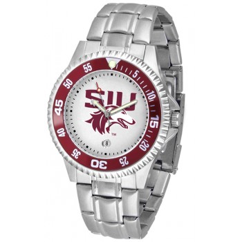 Southern Illinois University Salukis Mens Watch - Competitor Steel Band