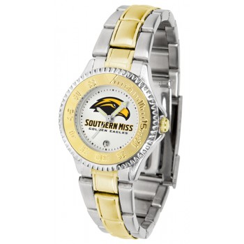 University Of Southern Mississippi Eagles Ladies Watch - Competitor Two-Tone