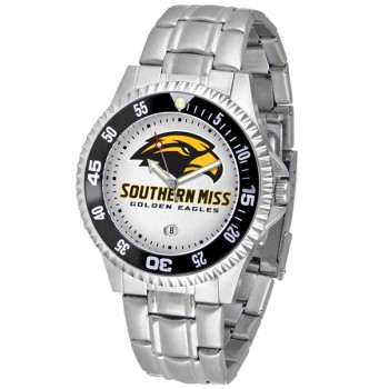 University Of Southern Mississippi Eagles Mens Watch - Competitor Steel Band