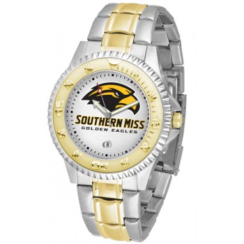 University Of Southern Mississippi Eagles Mens Watch - Competitor Two-Tone
