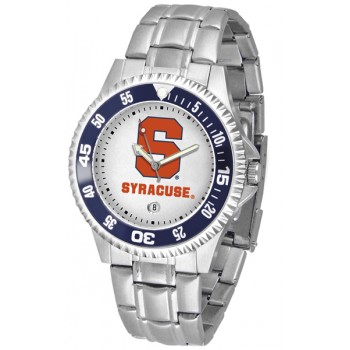 Syracuse University Orange Mens Watch - Competitor Steel Band