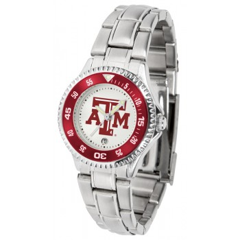 Texas A&M University Aggies Ladies Watch - Competitor Steel Band