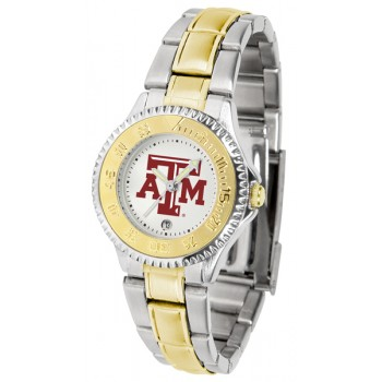 Texas A&M University Aggies Ladies Watch - Competitor Two-Tone