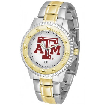 Texas A&M University Aggies Mens Watch - Competitor Two-Tone