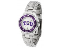 Texas Christian University Horned Frogs Ladies Watch - ...
