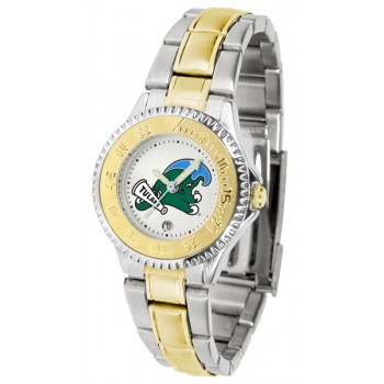 Tulane University Green Wave Ladies Watch - Competitor Two-Tone