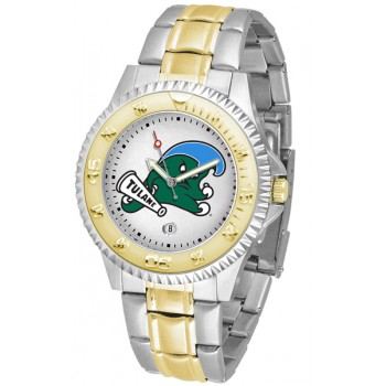 Tulane University Green Wave Mens Watch - Competitor Two-Tone