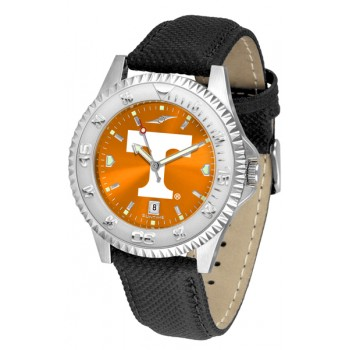 University Of Tennessee Volunteers Mens Watch - Competitor Anochrome Poly/Leather Band