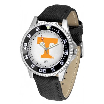 University Of Tennessee Volunteers Mens Watch - Competitor Poly/Leather Band