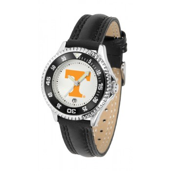 University Of Tennessee Volunteers Ladies Watch - Competitor Poly/Leather Band