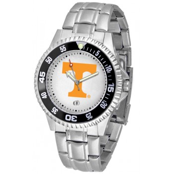 University Of Tennessee Volunteers Mens Watch - Competitor Steel Band