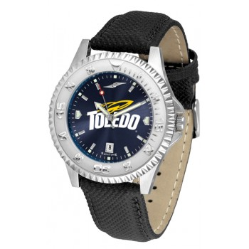 University Of Toledo Rockets Mens Watch - Competitor Anochrome Poly/Leather Band