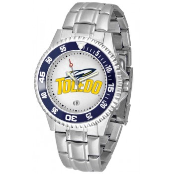 University Of Toledo Rockets Mens Watch - Competitor Steel Band