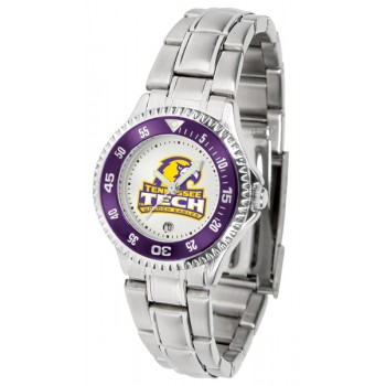 Tennessee Tech University Golden Eagles Ladies Watch - Competitor Steel Band